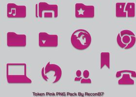 Token Pink PNG by Recon87