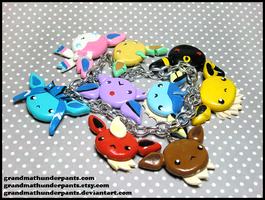 Eevee Evolutions Bracelet 2.0 by GrandmaThunderpants