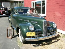 High Style in a 1940 LaSalle Series 52 sedan by RoadTripDog