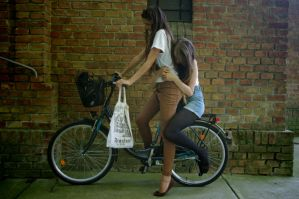 The Bicycle by waldrose