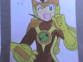 megaman elect style by ick25