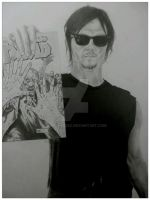 THE WALKING DEAD DARYL DIXON (NORMAN REEDUS) by BUMCHEEKS2