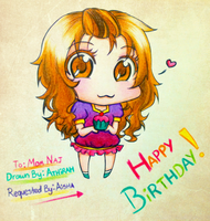 My Former Geog. Teacher Chibi Ver. -Requested- by IraDiotic