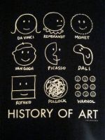 History of Art t-shirt by J-M-P-16