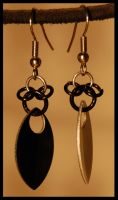 Mickey Earrings by GreenArrowDB