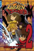 Chicken Fighter volume 2 cover by Jey09