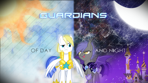 Wallpaper - Guardians of Day and Night by Animerge