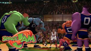 Michael Jordan vs Monstars (Space Jam) by dlee1293847
