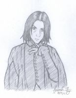 Severus Snape by Marlin-Rae