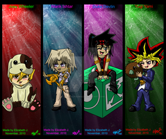 .:Yugioh Bookmarks:. Back by lizluvsanime2
