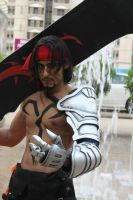 New Jecht Cosplay - Photoshoot outside the evnt by vega147