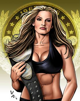 Trish Stratus by quibly