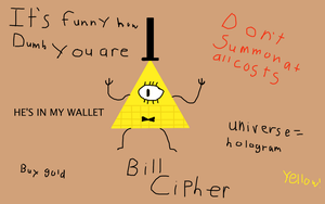 Bill Cipher by Endermist