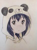 Manga panda girl by Ciarrenn