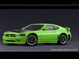 Dodge Charger SuperBee Concept by sonic