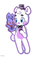 .: Funtime Freddy and Bawn Bawn! :. by Koniimelia