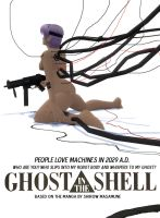 Ghost in the Shell Poster -new by FireOps