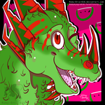Watermelon Icon :COMMISH: by Ruby-Orca-616