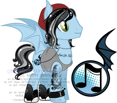 Kellin Quinn Custom Pony by KingPhantasya