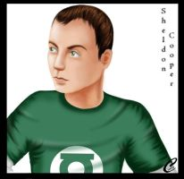 Sheldon Cooper by Ciotti