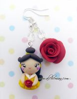 Bella earings by AlchemianShop