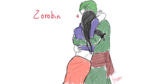 ZoRobin sketch by DoodleIara