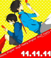 Happy Single's Day by kyunyo