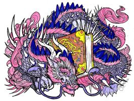 Bookwyrm - Colored by SunlightRyu