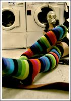 Rainbow Socks by DearSecret