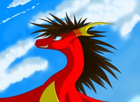 Challenging the Sky by FeonyxFyre