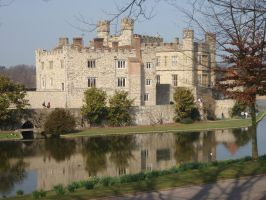 leeds castle by teenyb