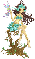 Dryad Collaboration by Wingsie