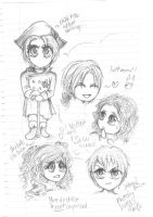 APH: Boredom in French Class by AryaMay