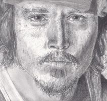 Johnny Depp by RedVanda
