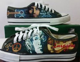 lennon-mccartney on low tops by alcat2021