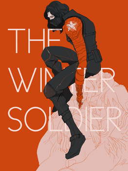 WINTER SOLDIER (CAPTAIN AMERICA) by gumwow