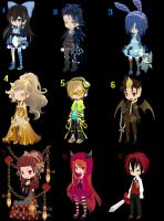 Doll Adoptables #16: Primary Colors~ -Closed- by StarOtaku19