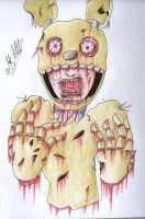 Springtrap by MikaCapde