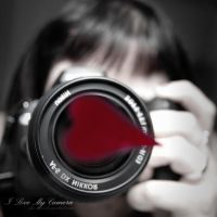 I Love My Camera by she-sins