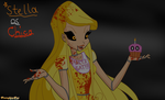 Stella from Winx Club As Chica from FNAF by Pumpkin-Pai