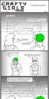 Minecraft Comic: Crafty Girls Pg3 by TomBoy-Comics
