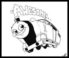 Thomas the Tank Engine by ExcessiveExpression