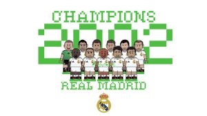 Lego: Real Madrid 2002 by akyanyme