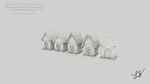 [WIP] Fluttershy's Cottage: Birdhouses (Wireframe) by discopears