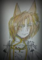 Draw There OC Contest - Tainan Ashbourn  by blackwhitegirlcat1