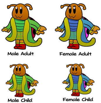 Laddiebug (Species) by WarioWules09