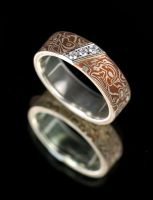 Mokume Gane Ring by carpe0diem