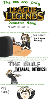 League Of Legends - Summoner Meme by Isulf