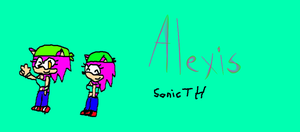 Alexis from SonicTH by SonicFreak4455