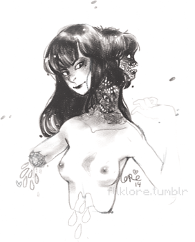 Tomie sketch by Lescouteaux